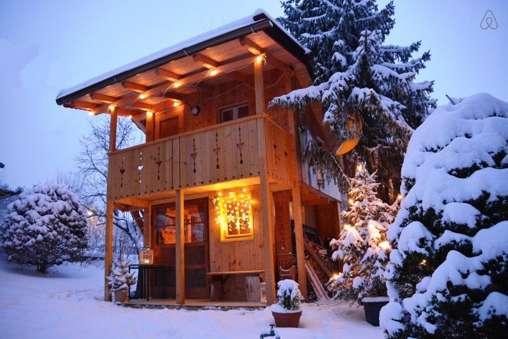 frugal airbnb cabin