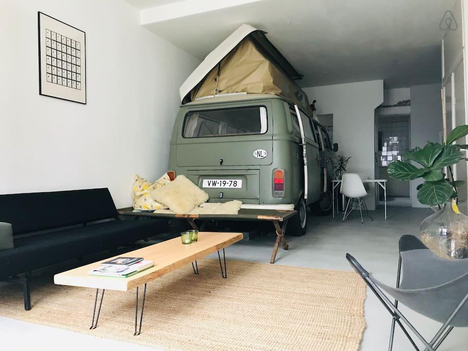 frugal airbnb van