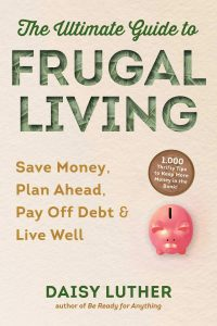 frugal living book