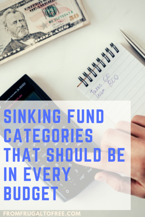 Sinking Fund Categories that Should be in Every Budget