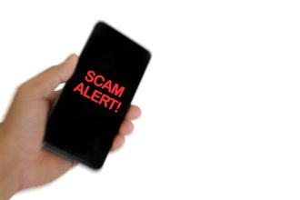 text message scam alert